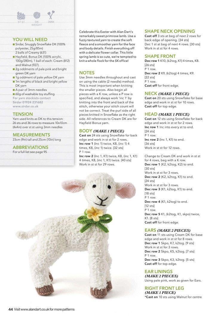 Simply Knitting April 2017 - 轻描淡写 - 轻描淡写 | Patrones ...