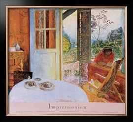 Pierre Bonnard Diningroom In The Country Art Poster Print Prints