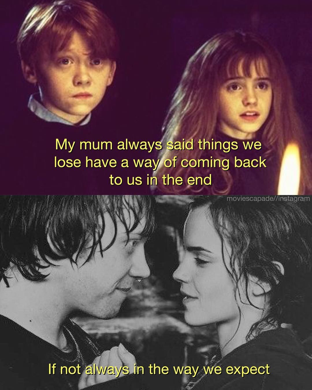 Do You Ship Ron And Hermoine Movie Harry Potter And The Order Of The Phoenix Harry Potter Harry Potter Hermione Hermoine And Ron