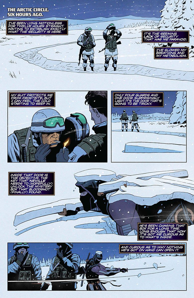 Preview: The Valiant #2, Page 5 of 10 - Comic Book Resources