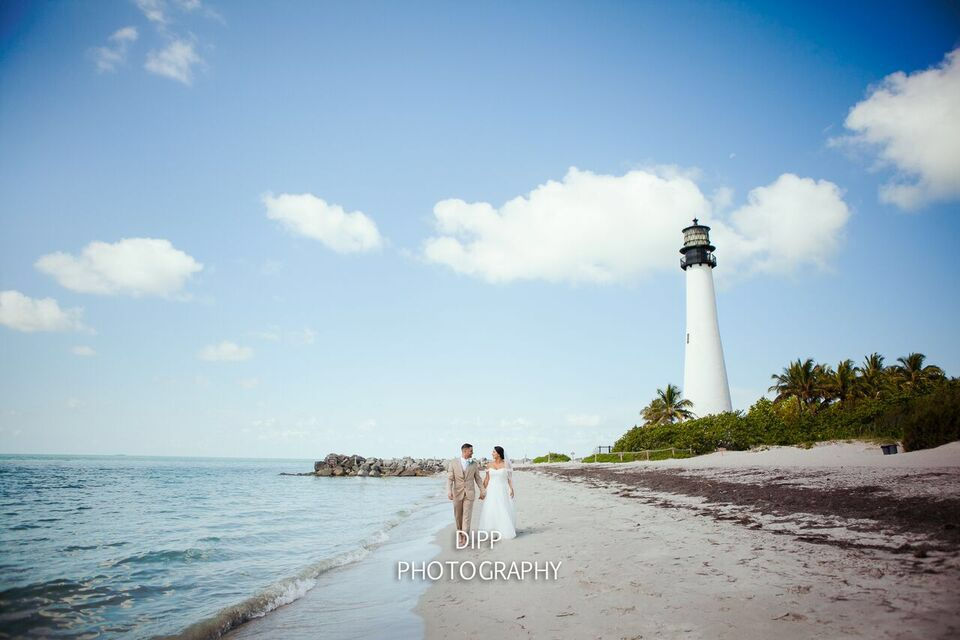 Miami Beach Wedding S Oldest Structure Building The Key Biscayne Lighthouse