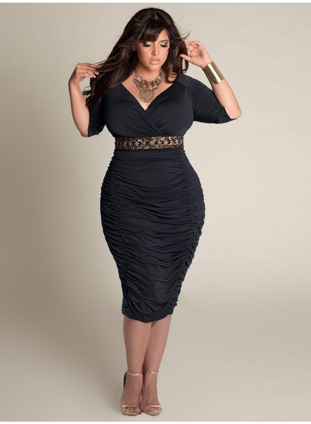 1000  images about Lovely Plus Size Cocktail Dresses on Pinterest ...