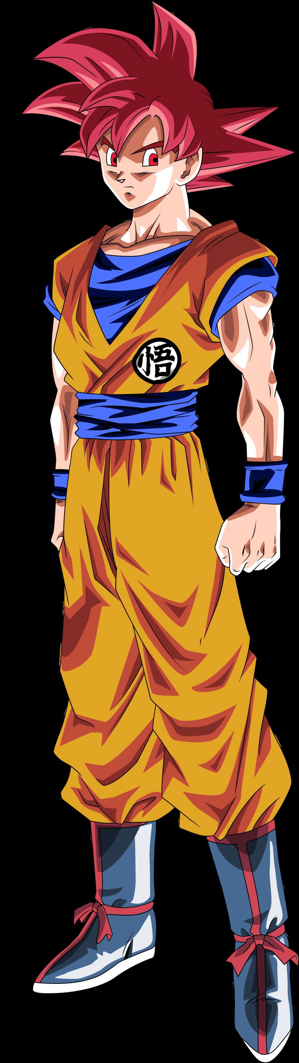 Goku Fase Dios By Shimomt D60p0ne Png 1024 3640 Dragon Ball Goku Dragon Ball Dragon Ball Z