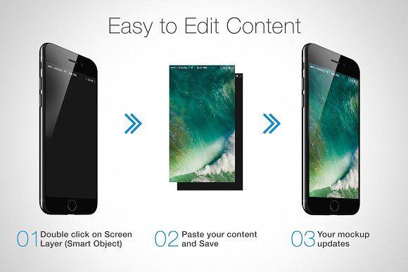Download Iphone 7 Mockups Iphone Blogger Design Iphone Mockup