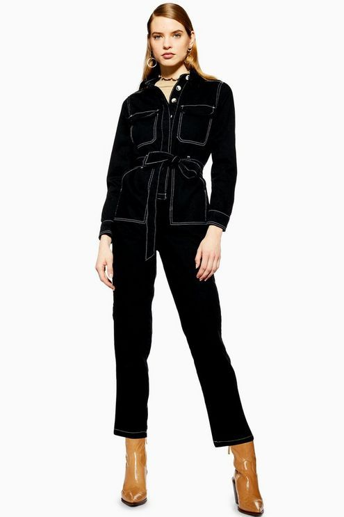 ef208519c89b Black Denim Boiler Suit - Denim - Clothing in 2019
