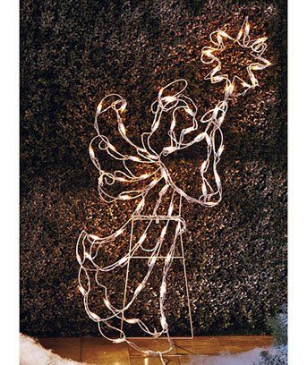 Lighted Angel Yard Figure - Lighted Angel Yard Figure Lighted Christmas Angels Yard