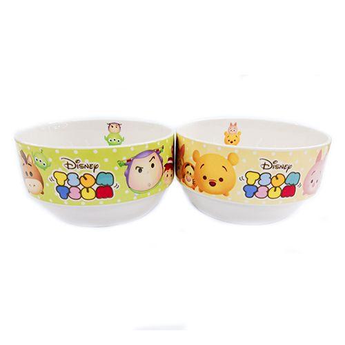 Kidztime Tsum Tsum 2pcs Bowl Set 4 5 Bowl Set School