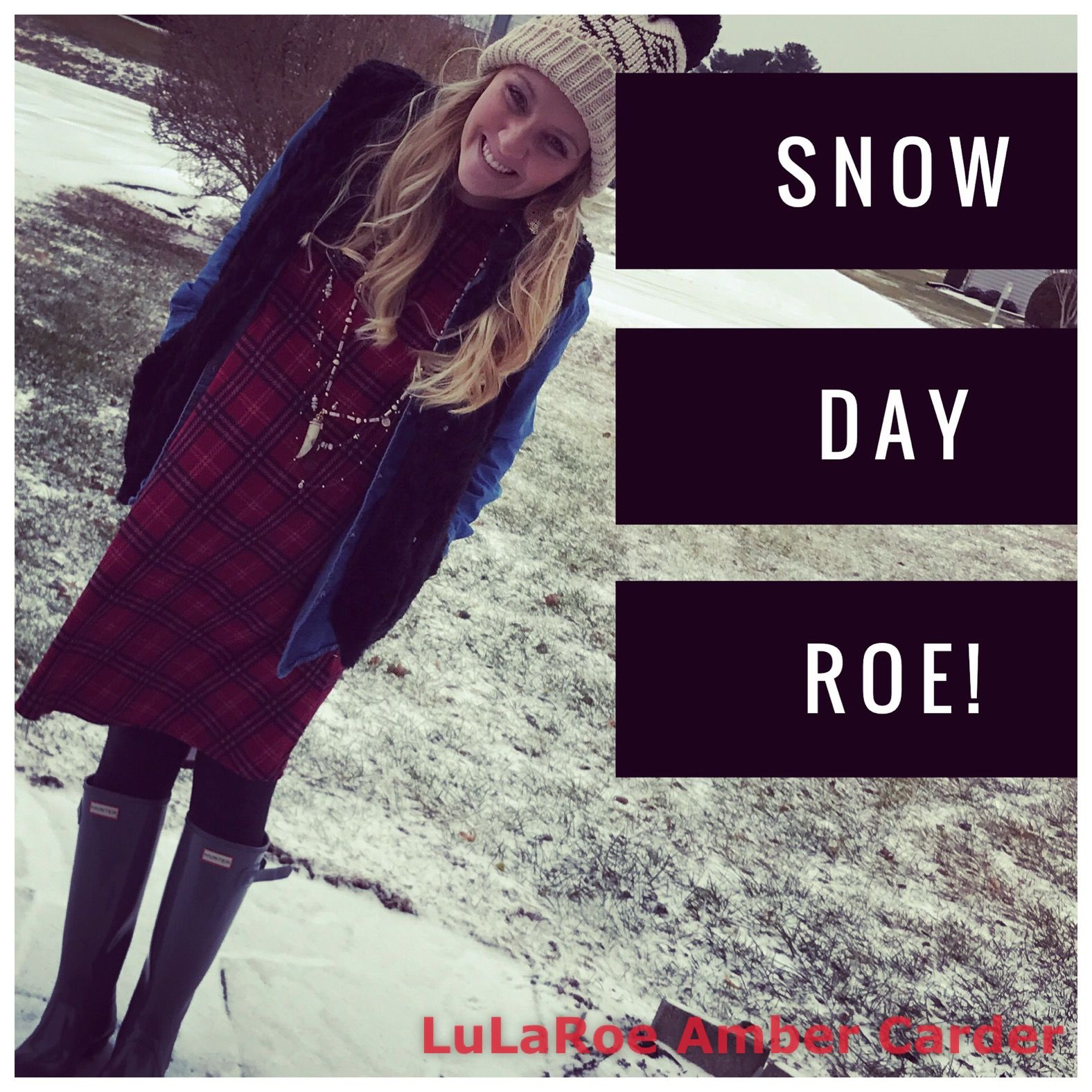 Plaid, fur vests, and boots. HTTPS://www.facebook.com/groups/lularoeambercarder