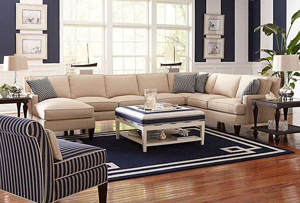 Libby Langdon Furniture The Latham Sectional