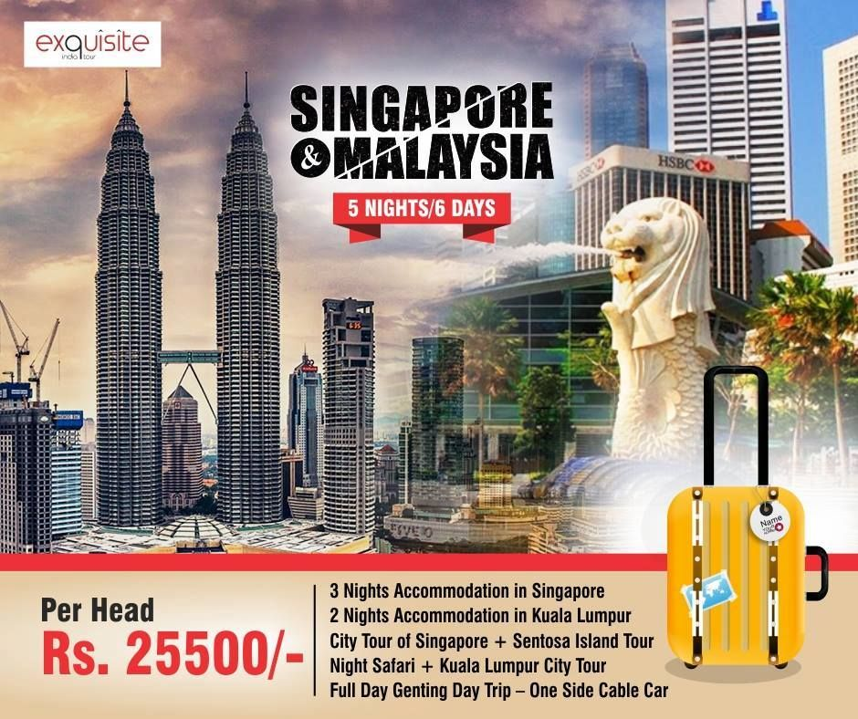 Visit Singapore And Malaysia At The Cheapest And Best Package With Exquisite India Tour Call Now 9999292007 99994428 Island Tour Visit Singapore India Tour