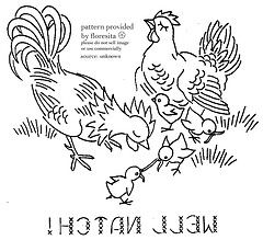 Free rooster chicken embroidery patterns stitchin pics free rooster chicken embroidery patterns dt1010fo
