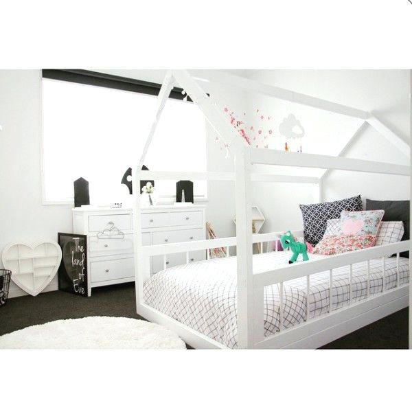 full size house bed frame house shaped beds galore white houses big ...