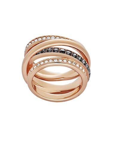 Swarovski Dynamic Ring Women's Rose Gold 9