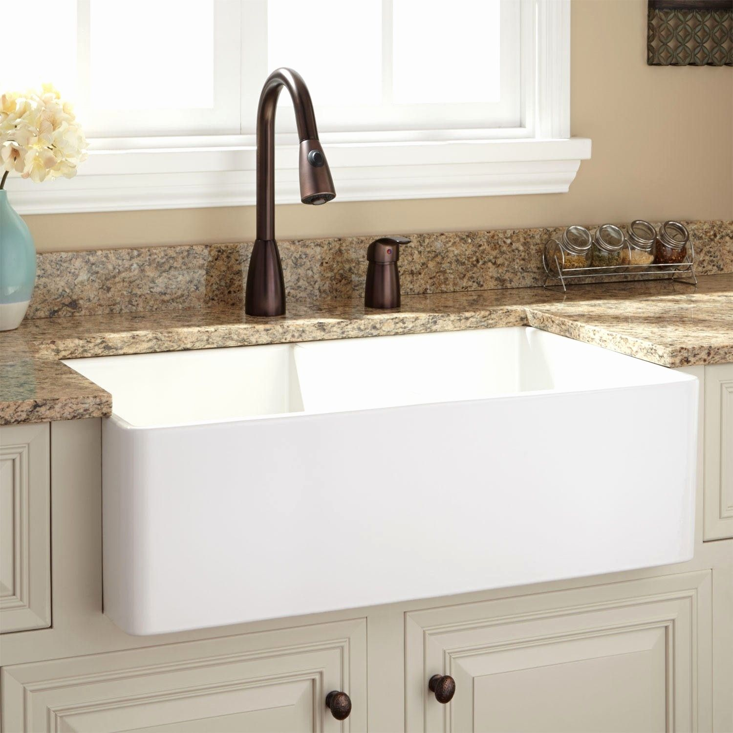36 Kitchen Sink Best Of Fireclay Farmhouse A Front Double Bowl