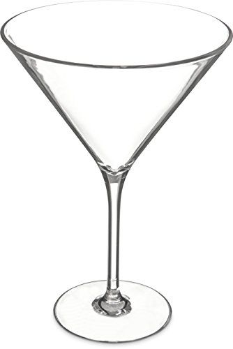 Carlisle 564607 Alibi Shatterresistant Plastic Martini Glass 9 Oz Set Of 24 Want Additional Info Cli Martini Glasses Painted Martini Glass Martini Glasses
