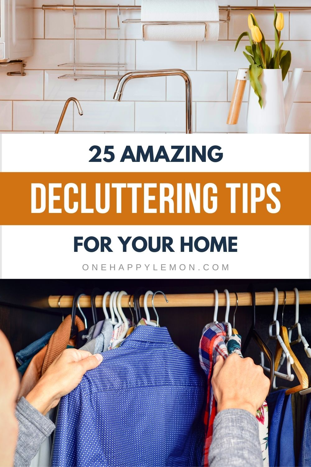 When it comes to decluttering, it is quite normal to become overwhelmed. You should always declutter the things you no longer use and no longer feel you need it. Here are some decluttering home tips that you can apply today. #homehacks #decluttering #DIY #homemaintenance