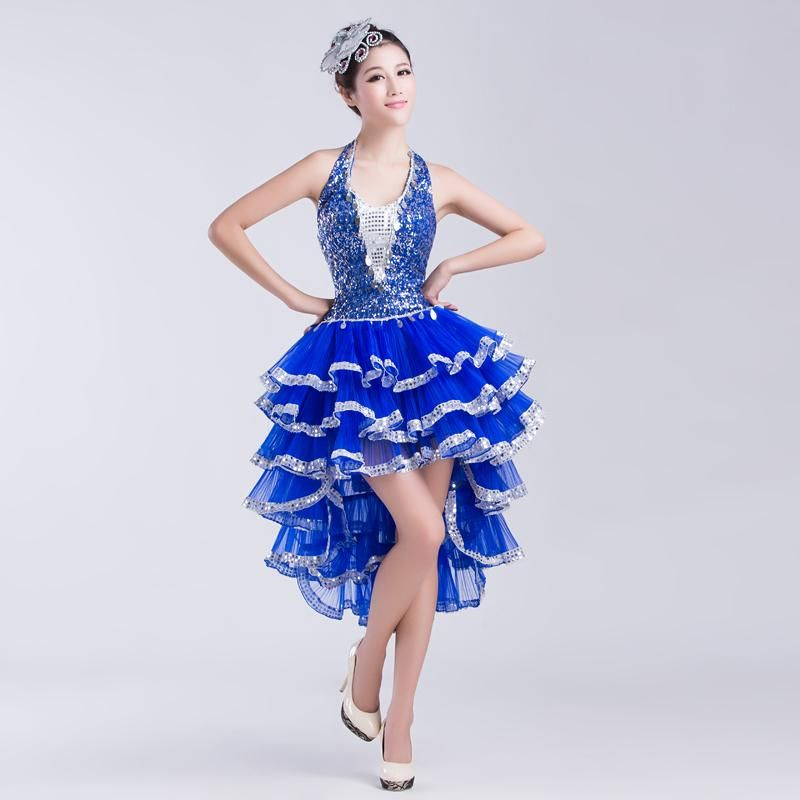 29184e789f6f 2015 New Women Latin Dance Dress Sequins Dance Dress Clothes Adult Dance  Performance Clothing Modern Dance Jazz Dance Costumes From Liliao10086, ...