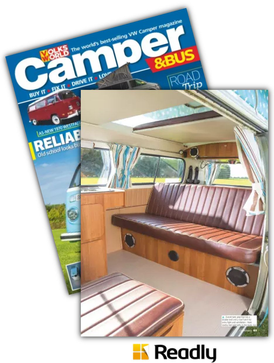 Suggestion about VW Camper & Bus Magazine May 2015 page 61