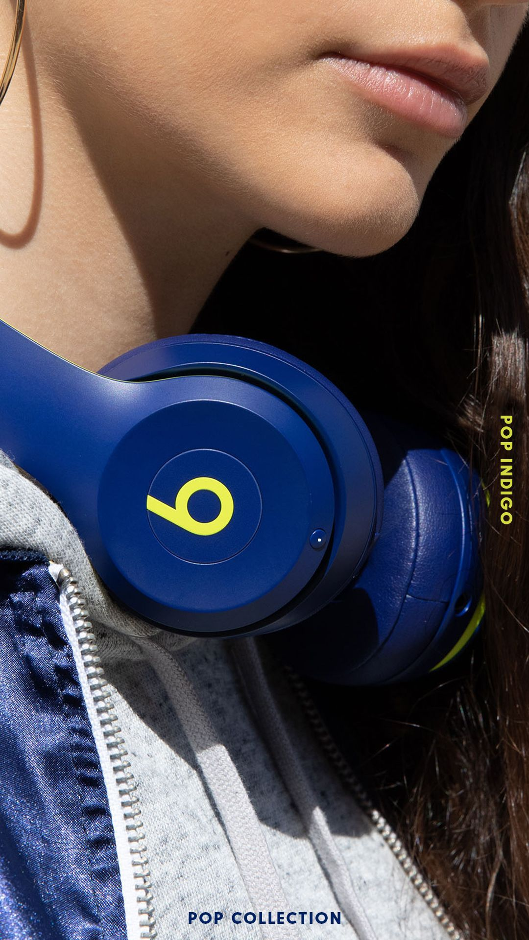 Refuse To Blend In Shop The Beats Pop Collection Upgrade Your Style This Summer With Bright And Colorful Be Beats Earbuds Girl With Headphones Dre Headphones