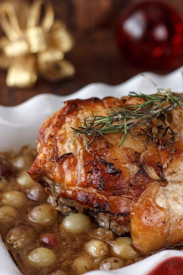 Jam n asado al cava receta para navidad jam n asado - Jamon asado al horno ...