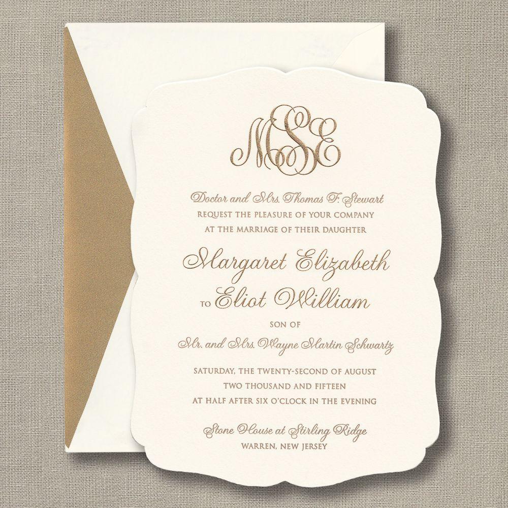 Engraved Rococo Wedding Invitation Wedding Invitation Text Free Wedding Invitation Samples Wedding Invitation Quotes