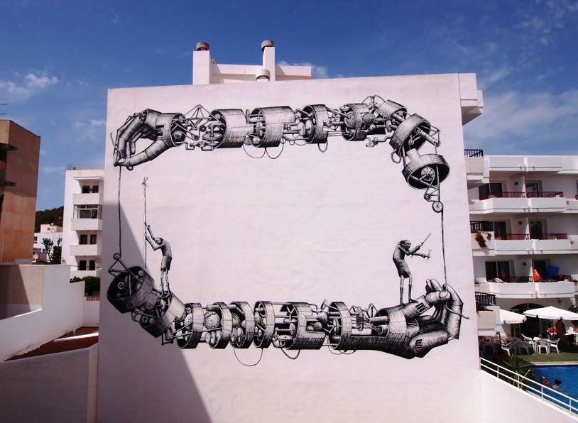 I wish I could make it to Bloop! Bloop Festival is coming up featuring Phlegm, Interesni Kazki, Dadi Dreucol, Malarky and others in Ibiza from the 14th July to 18th August (www.bloop-festival.com). This piece is by Phlegm last year - awesome!