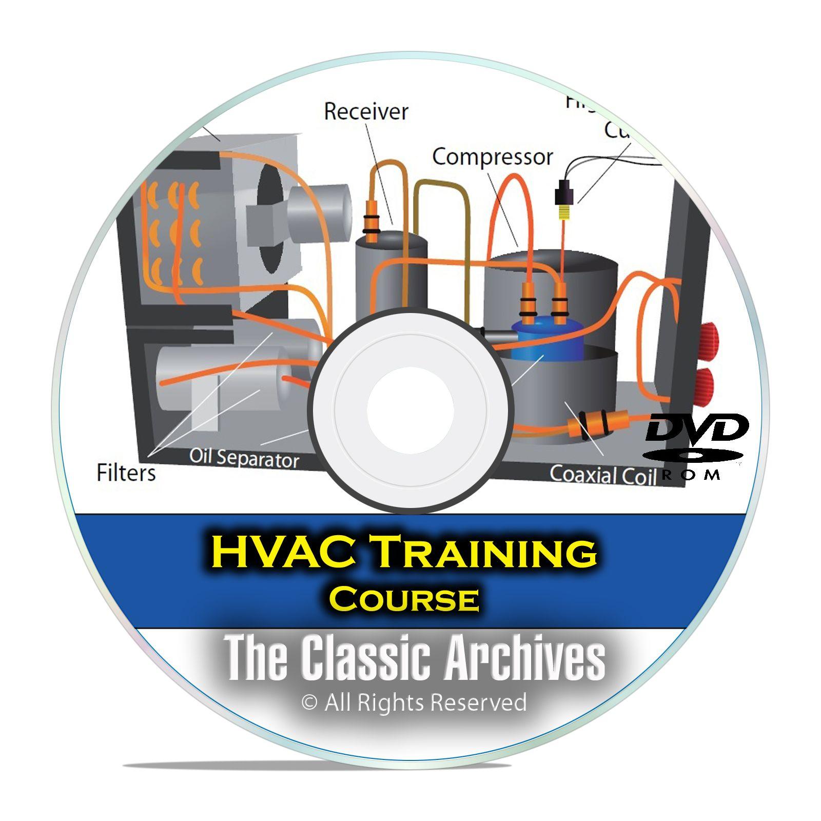 HVAC Journeyman Training Course, Heating Air Conditioning