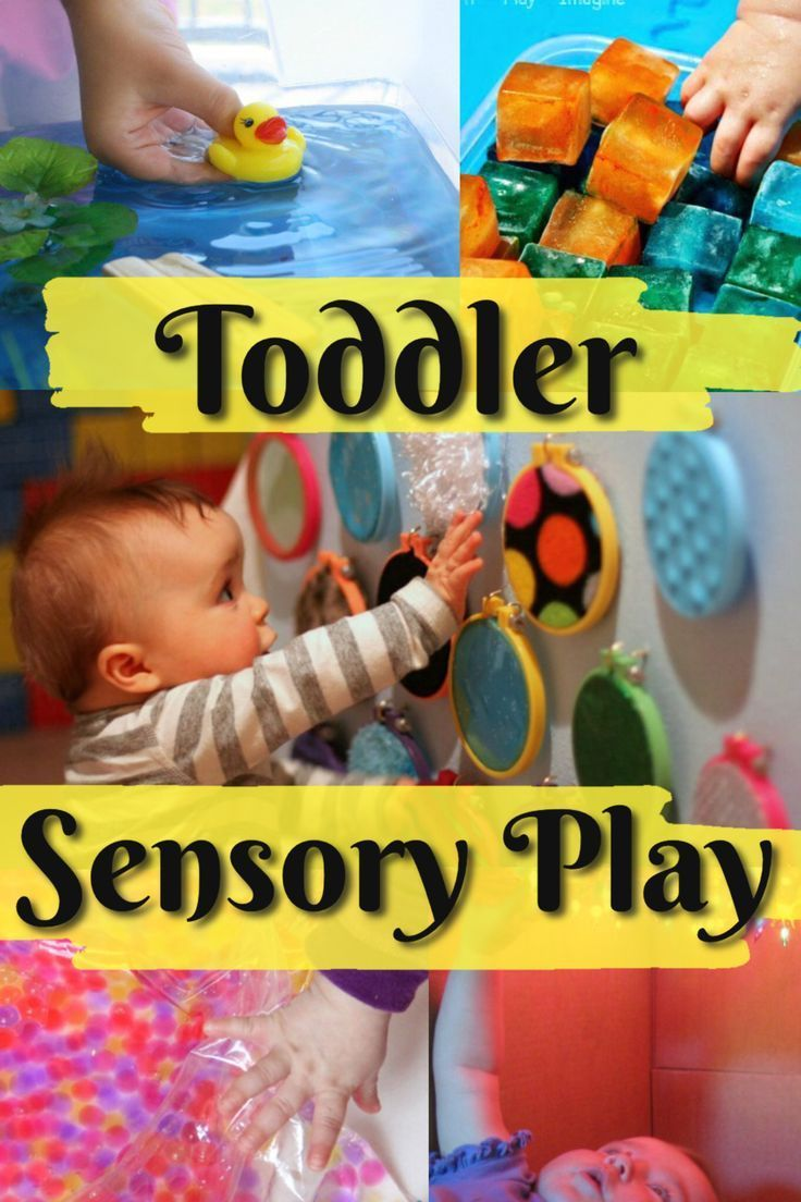 Sensory Activities for Toddlers #creativeartsfor2-3yearolds