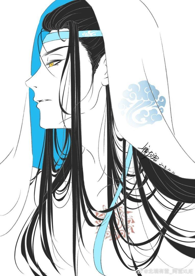 Lan Wangji Drawing, Painting, Ảnh tường cho điện thoại
