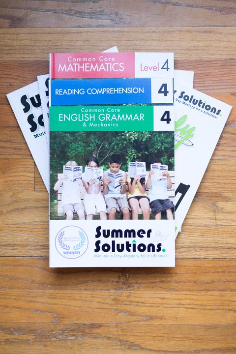 Ever wonder why your child should keep practicing academic skills over the summer? We've got the answer and the Summer Solutions books to help do the job!