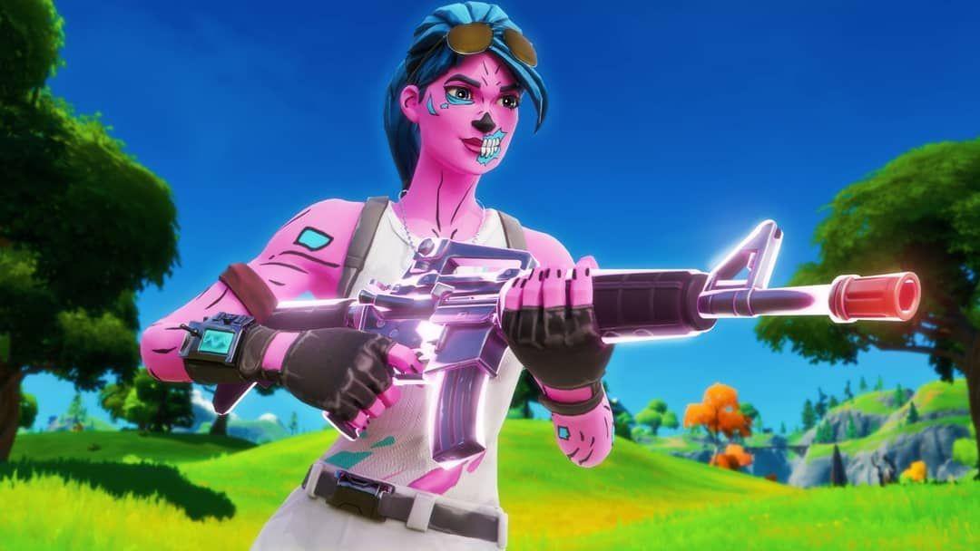 Pink ghoul trooper wallpaper