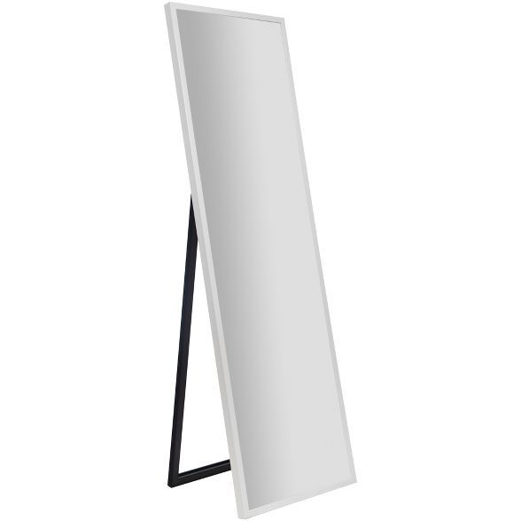 Free Standing Mirror With Easel White, White Floor Mirror With Easel