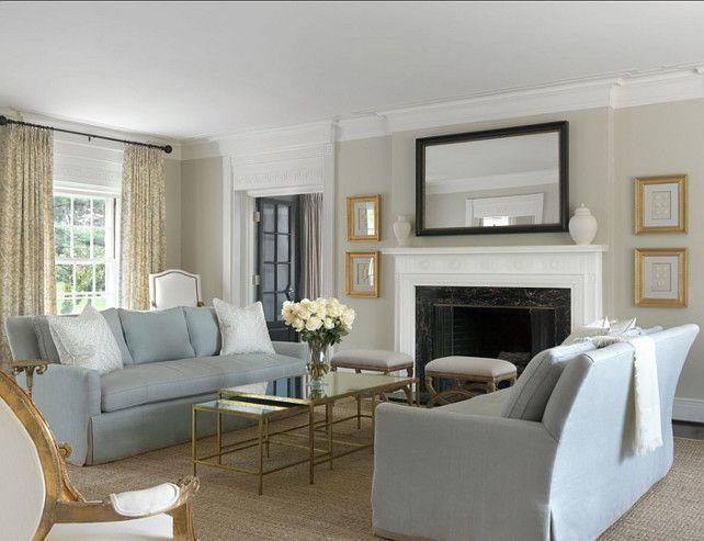 "Living Room Paint Ideas Benjamin Moore interior design ideaswall paint color: ""benjamin moore oc-11 clay"