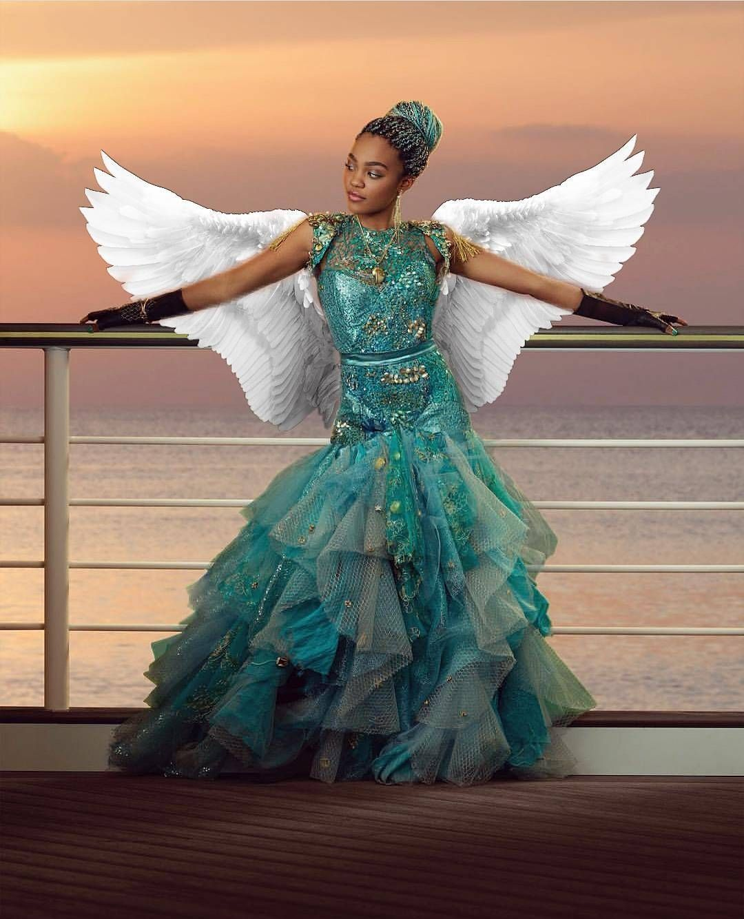 Uma with Wings | China Anne McClain | Descendants 2 | Edit by ...
