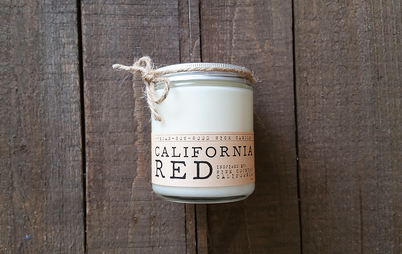 Light up this soy wood wick candle and breathe in the sweet scent of a spicy cabernet sauvignon.