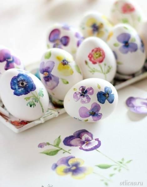 украшения к пасхе, как покрасить пасхальные яйца ...
