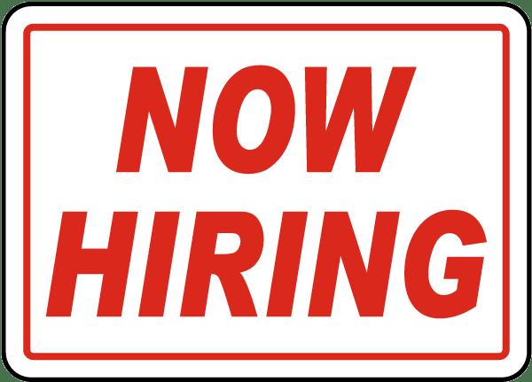 Careers Hiring Now Help Wanted Hiring