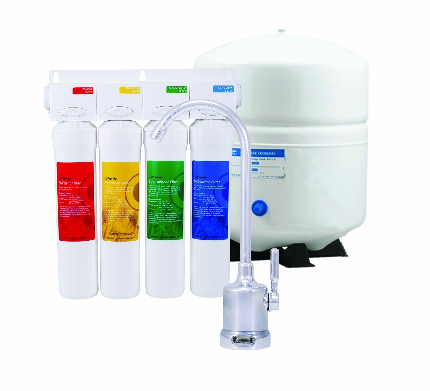 Reverse Osmosis Water Filter Systems Get The Purist Cleanest Water ...