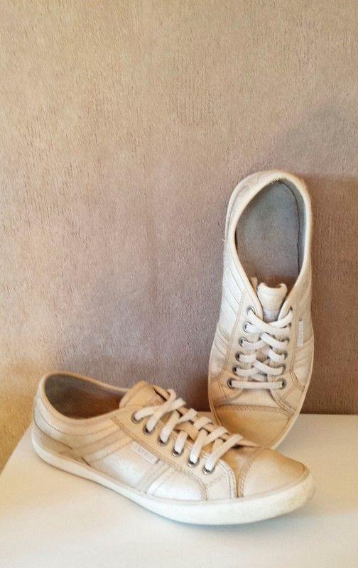 Esprit Schnürschuhe beigegold | Schnürschuhe, Schuhe