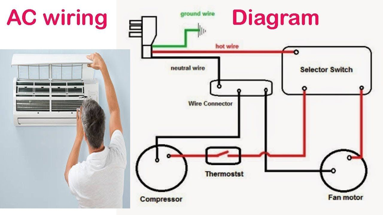 medium resolution of ac wiring circuit wiring diagram a wire circuit diagram ac circuit wiring diagram
