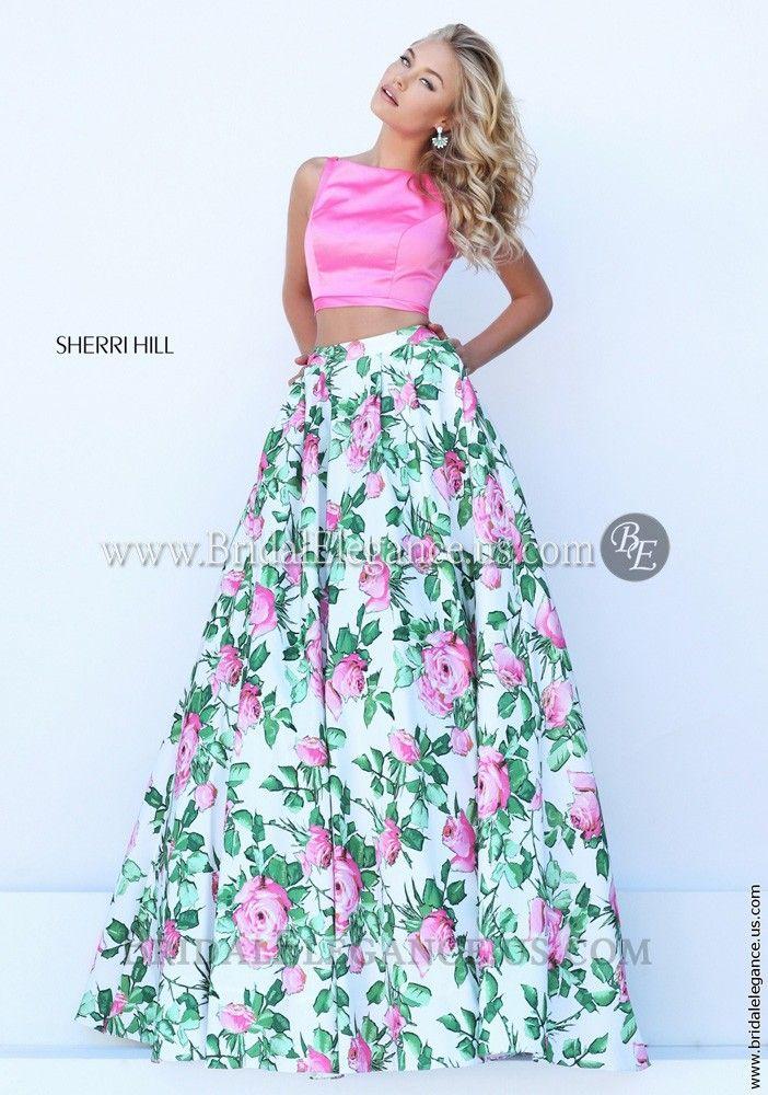 Sherri HIll 50448 | Bridal Elegance | Prom Dresses | Flirty Florals ...