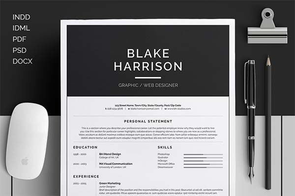 Stylish Design Resume Templates That Stand Out Free Resume Templates