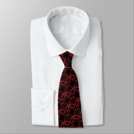 Spider-Man Iconic Graphic Neck Tie - tap/click to get yours right now! #NeckTie  #spiderman #spider #man #marvel #comics