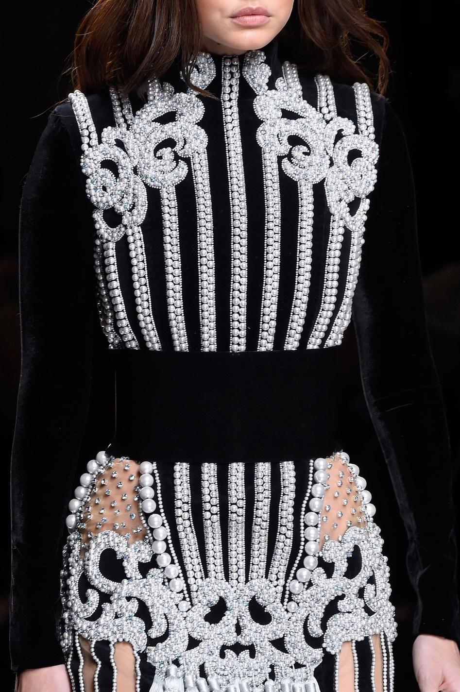 d fil balmain automne hiver 2016 2017 pr t porter women 39 s fashion haute couture mode. Black Bedroom Furniture Sets. Home Design Ideas
