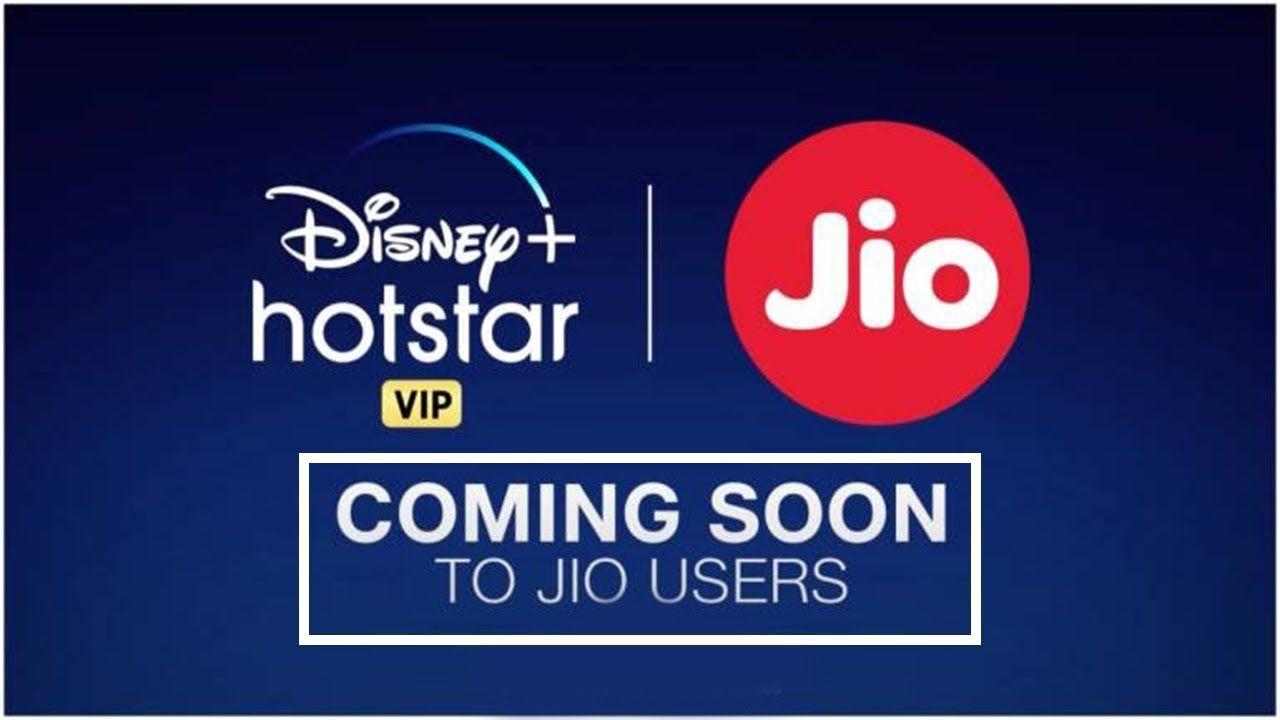 Jio to offer 1 year of free disney hotstar vip