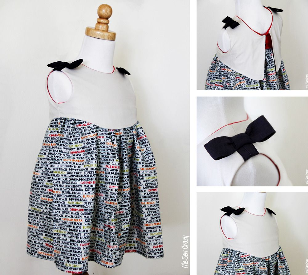 The madeline dress epattern size years me sew crazy patterns