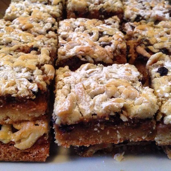 Mincemeat & Apple shortbread.  Fleet street bakery