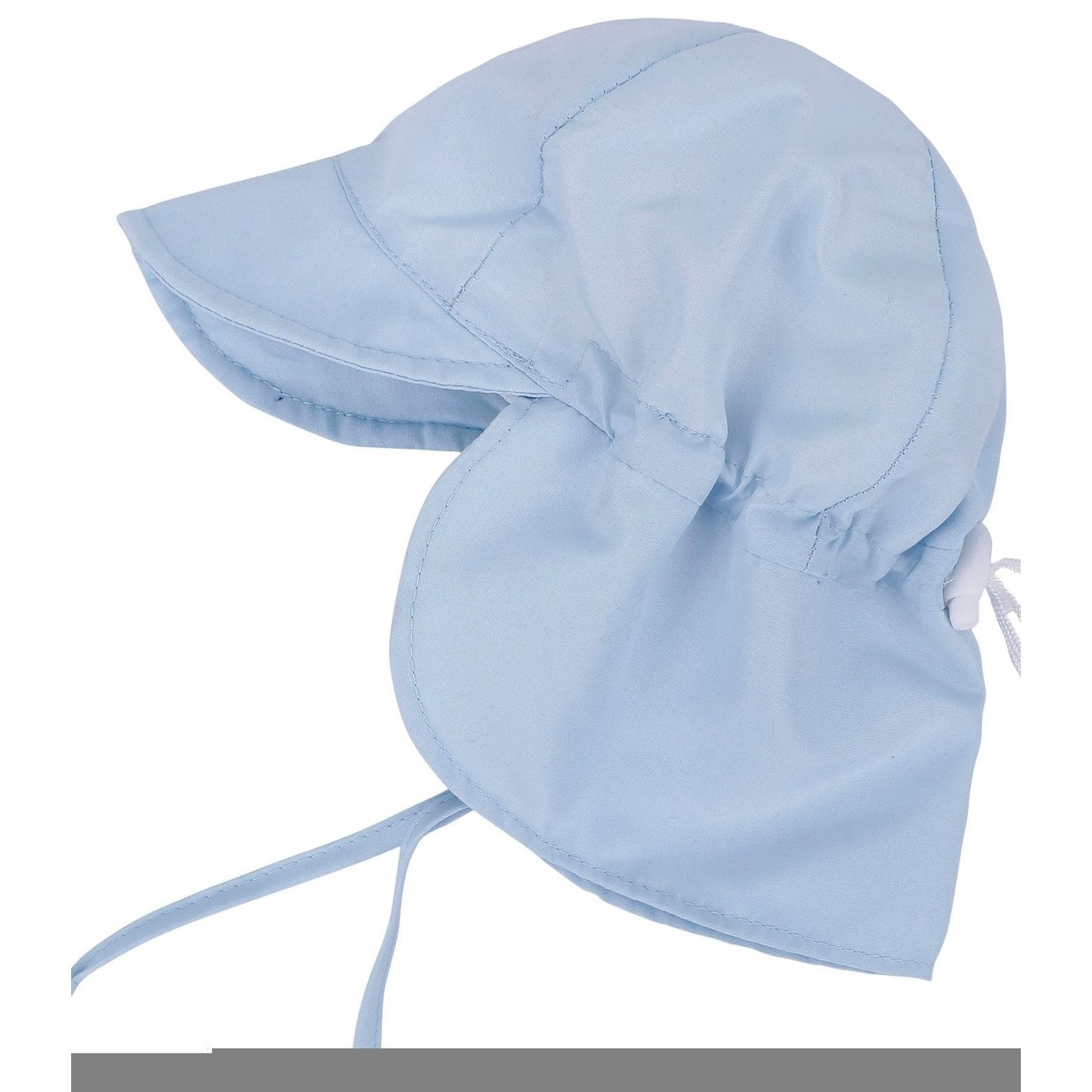5c9783a2 SimpliKids UPF 50+ Infant and Toddler Sun Hat with Neck Flap and Drawstring