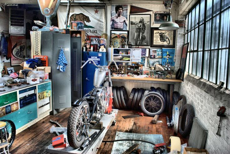 Image Result For Small Motorcycle Garage