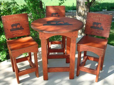 Cowboy Patio Furniture | Price: $1,521.00   $1,642.00